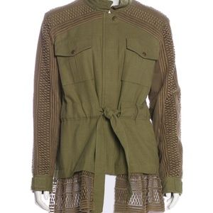 SEA NEW YORK Size M Baja Lace Military Utility